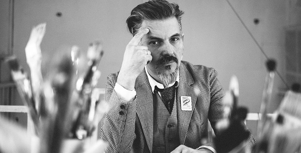 artist George Ostrecov