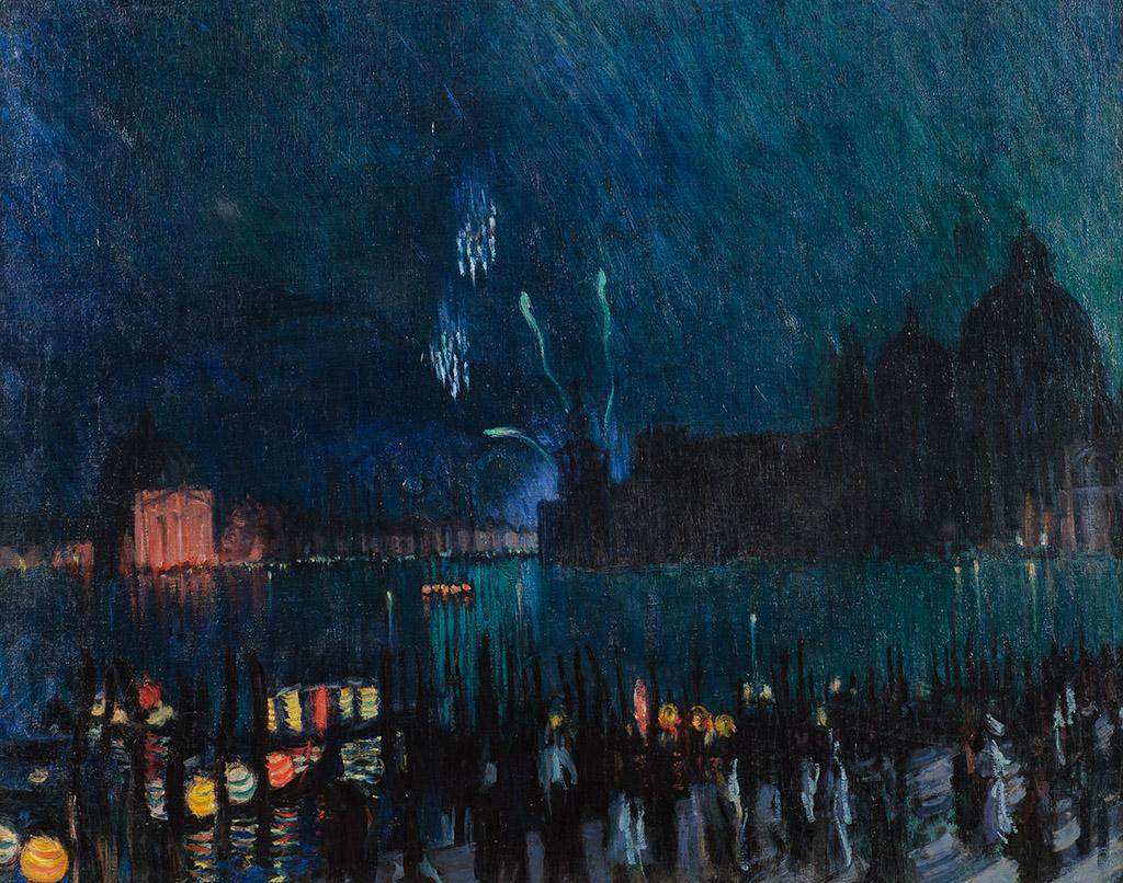 "Борис Кустодиев ""Венеция"" 1913"