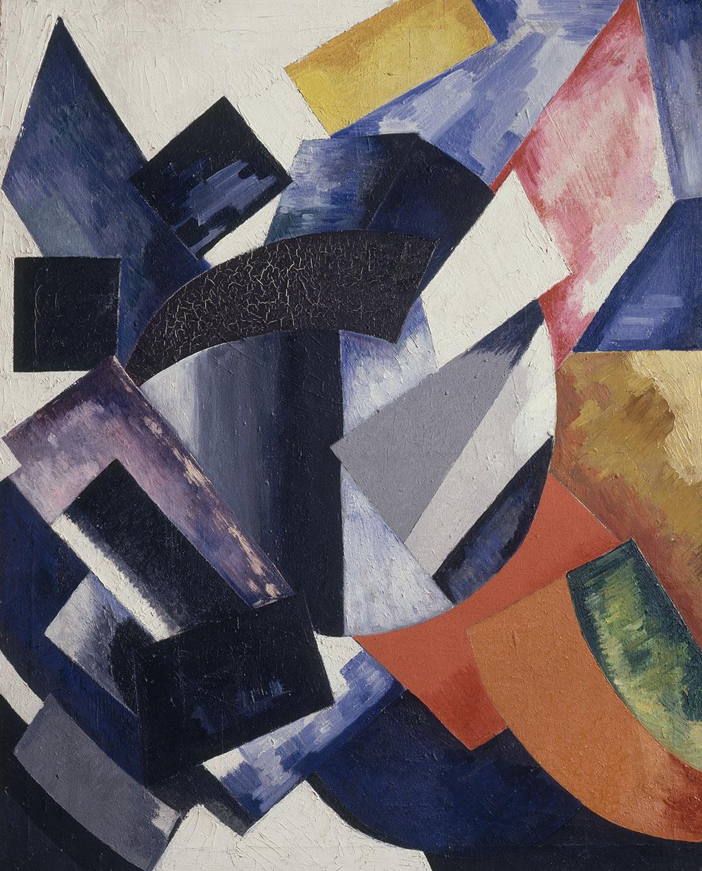 "Александра Экстер, ""Абстрактная композиция"", 1917/18"