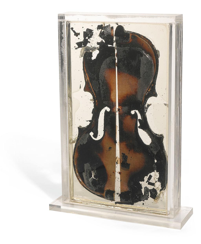 Arman, The last violin, 1977