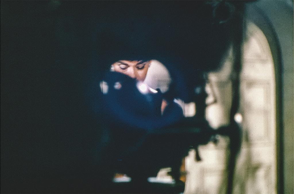 """Одри Хепберн на съемках фильма """"Сабрина"""", 1954"""