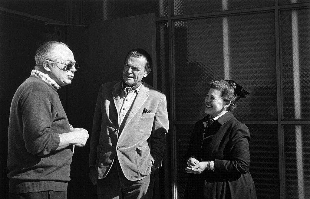 Билли Уайлдер, Чарльза и Рей Имзы, 1972