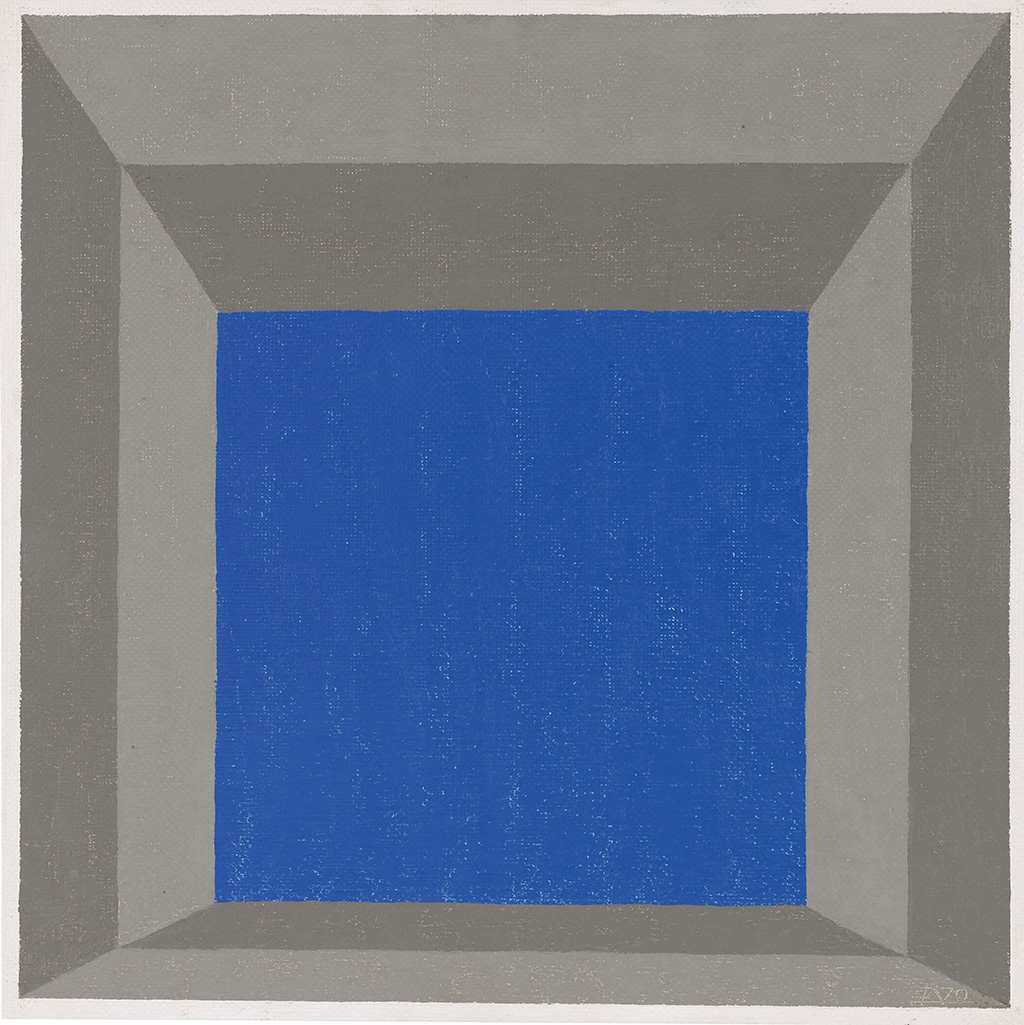 Joseph Albers, Study for Hommage to the Square Framed Sky 'C', 1970