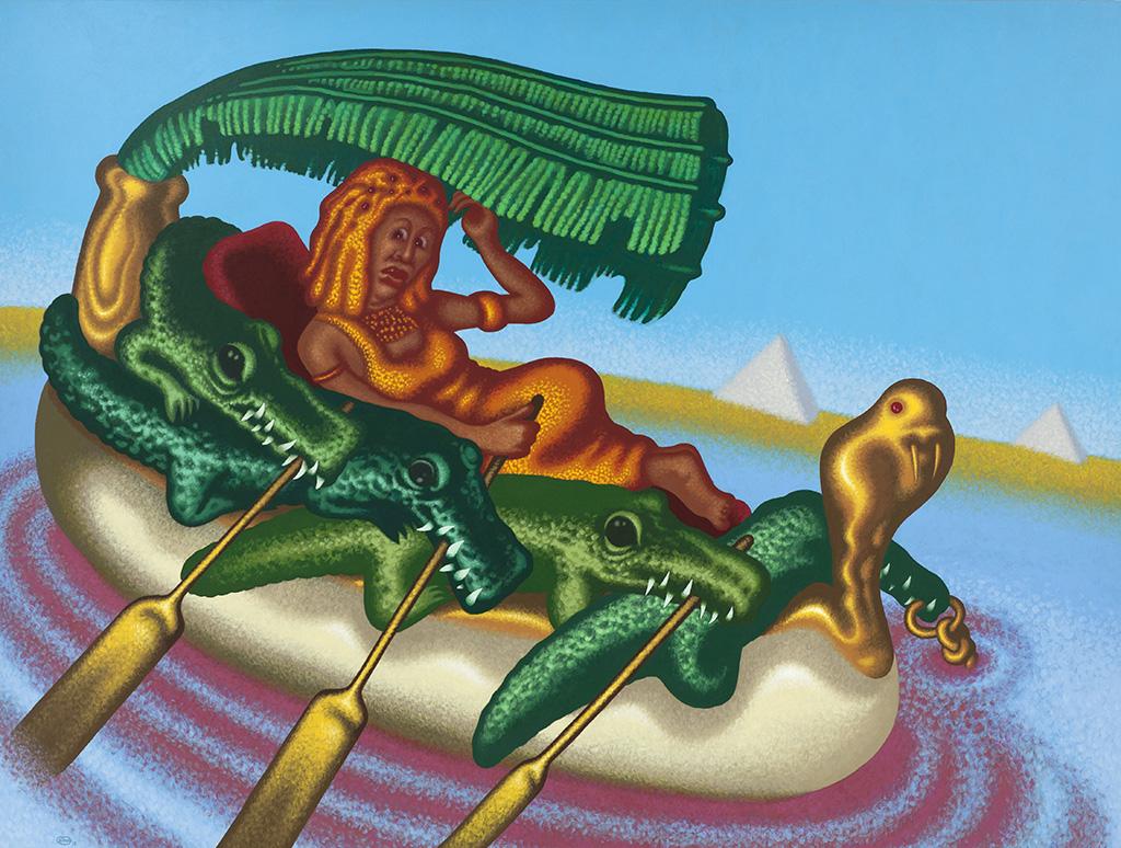 Питер Сол. Клеопатра, королева Нила. 2012-2013. Предоставлено галереей Гари Тацинцян и студией художника