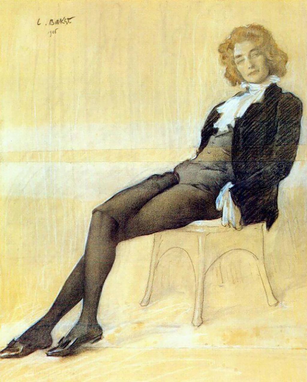 """Портрет З.Н.Гиппиус"", 1906"