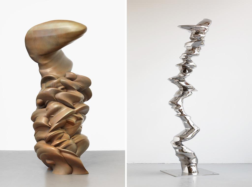 Ложные кумиры, Гремания, 2011 / Эллиптическая колонна Германия, 2012 © Tony Cragg Studio, Fondazione Berengo