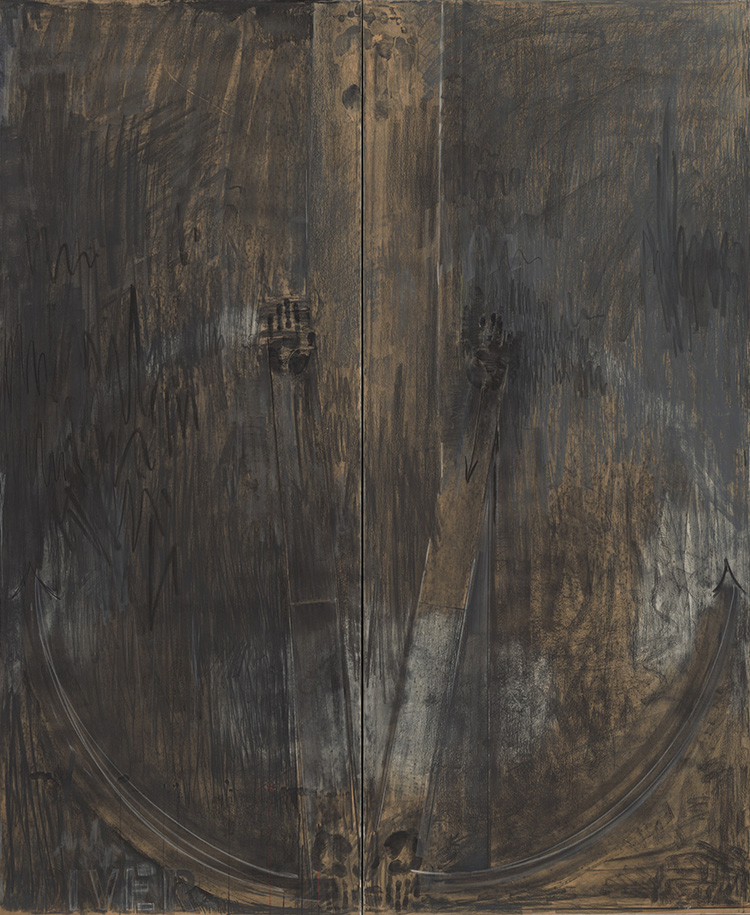 """Jasper Johns,""""Diver"""",1962-63"""