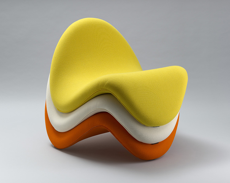 "Pierre Paulin, ""Tongue Chair (model 577)"", 1967"