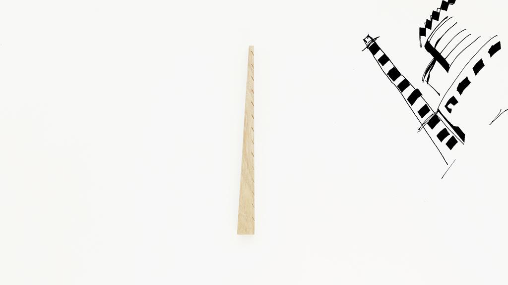 линейка Труба трикотажной фабрики «Красное знамя» [Э.Мендельсон, И.А.Претро, С.О.Овсянников] 1925-1928 Санкт-Петербург, Пионерская ул., 57