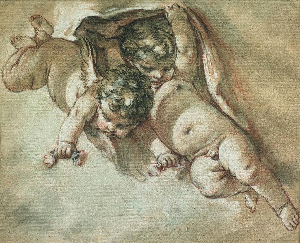 Франсуа Буше «Два путти», 1747