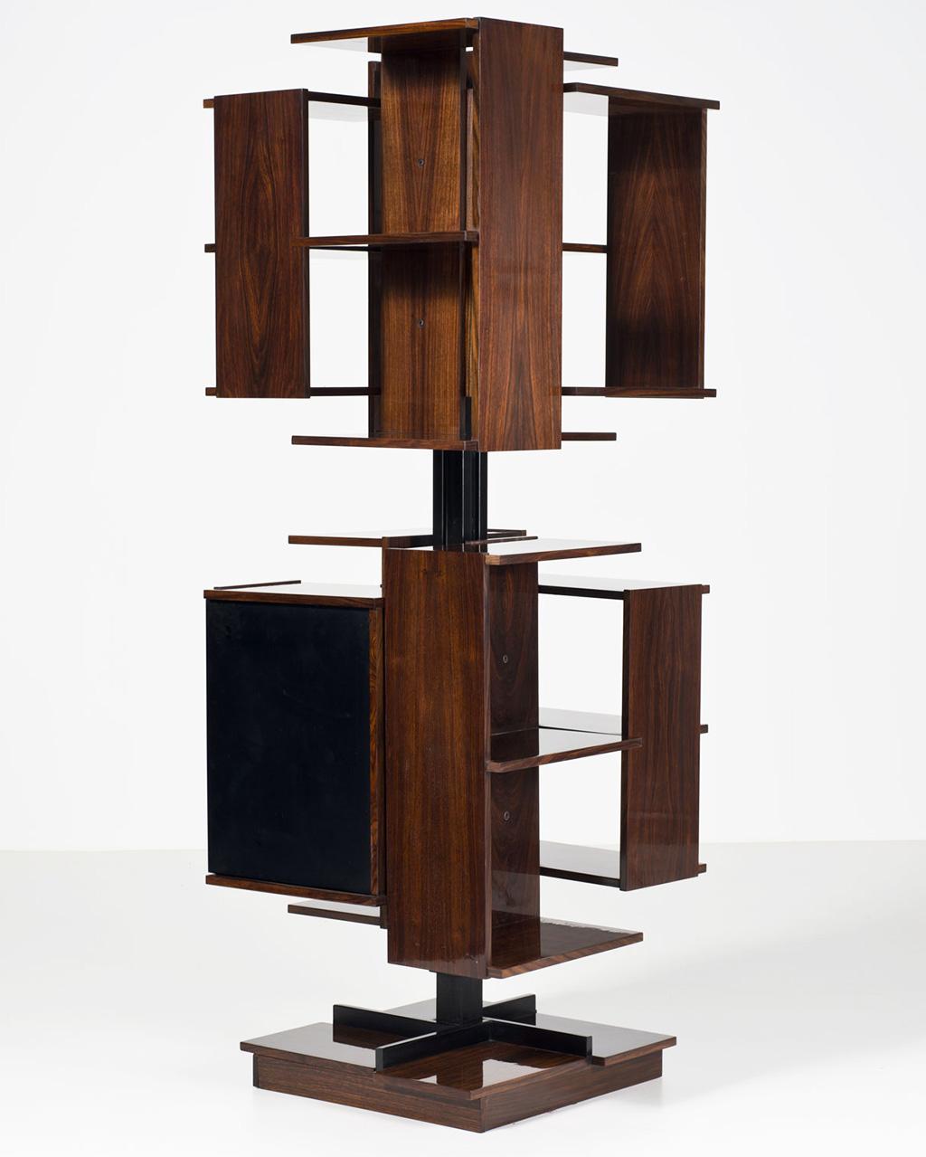Клаудио Салоччи Книжный шкаф-вертушка, 1960