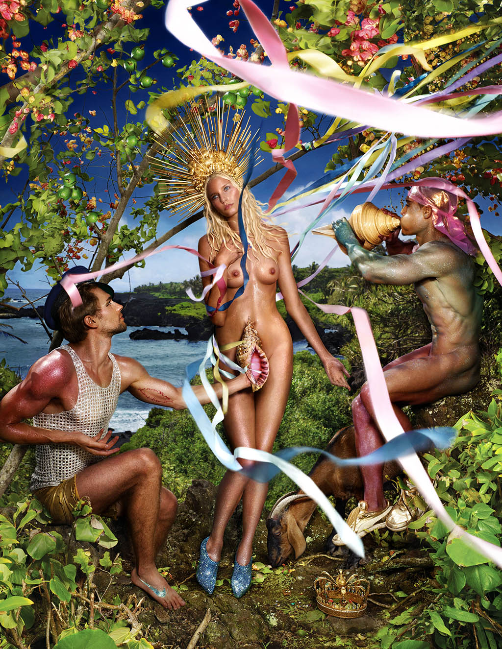 "David LaChapelle ""Rebirth of Venus"", 2009"
