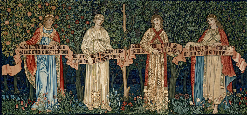 "William Morris, John Henry Dearle, Morris & Co. ""The Orchard"", 1890"
