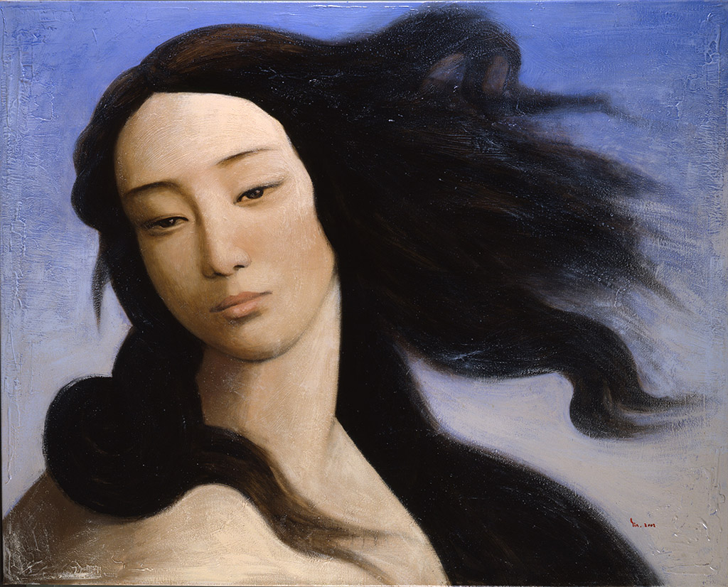 Yin Xin Venus, after Botticelli, 2008