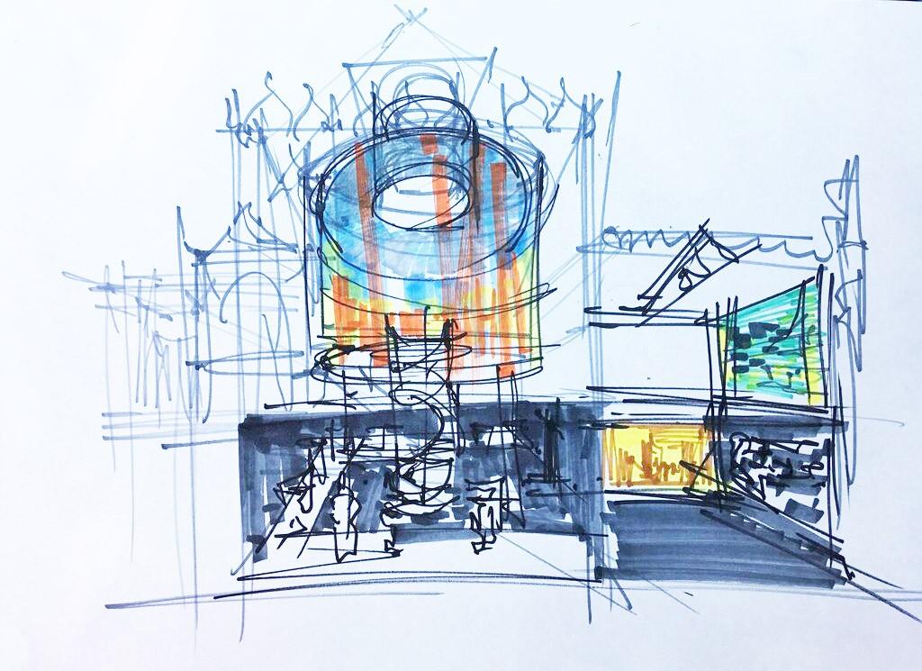 Сергей Кузнецов Проект оформления павильона, 2016