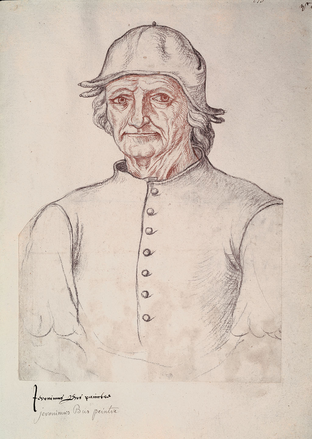 """Jacques Le Boucq """"Portrait of Hieronymus, Bosch"""", 1550"""