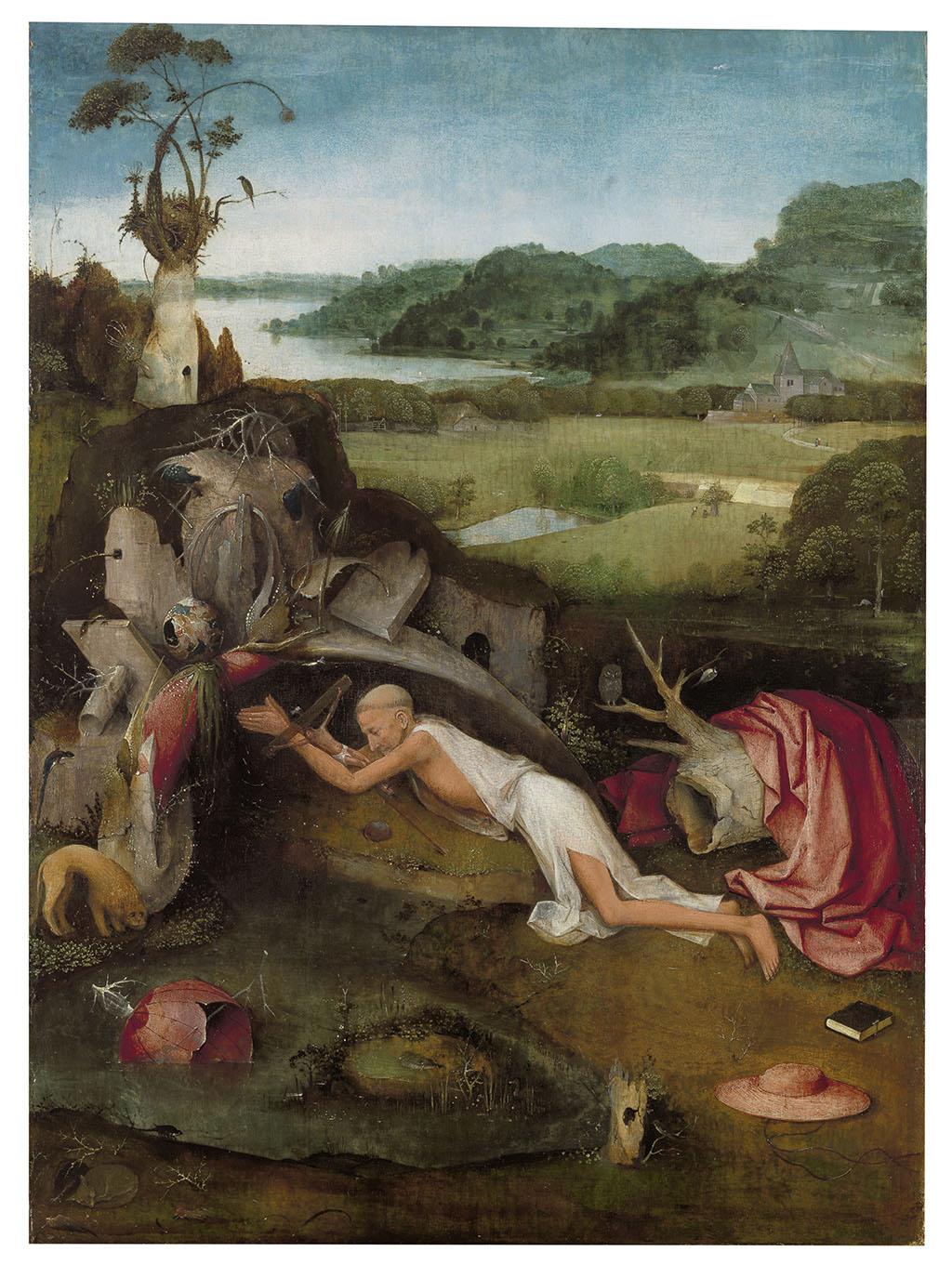 Иероним Босх «Святой Иероним за молитвой» ок. 1485—95 Музей изящных искусств в Генте