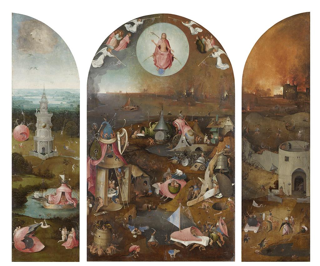 Иероним Босх «Страшный суд» (триптих) ок. 1495-1505 Музей Грунинге в Брюгге