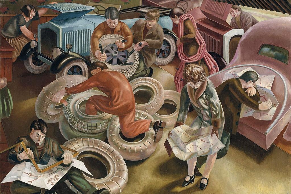 СтэнлиСпенсер  «Гараж»  1929