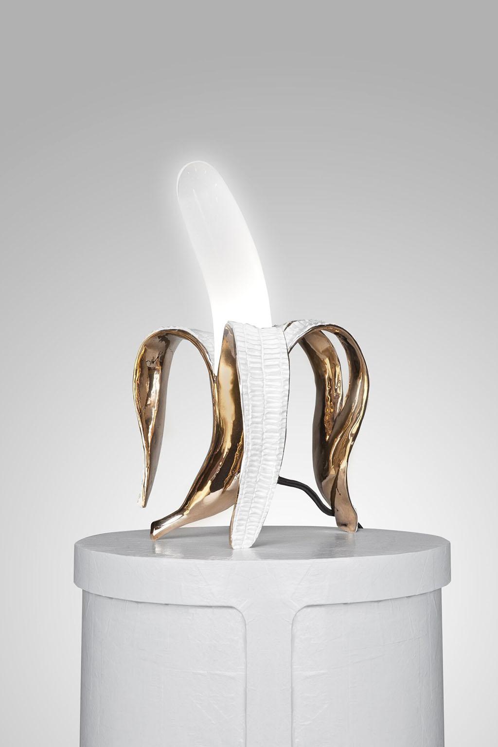 Banana Lamp by Studio Job 2015 Carpenters Workshop Gallery