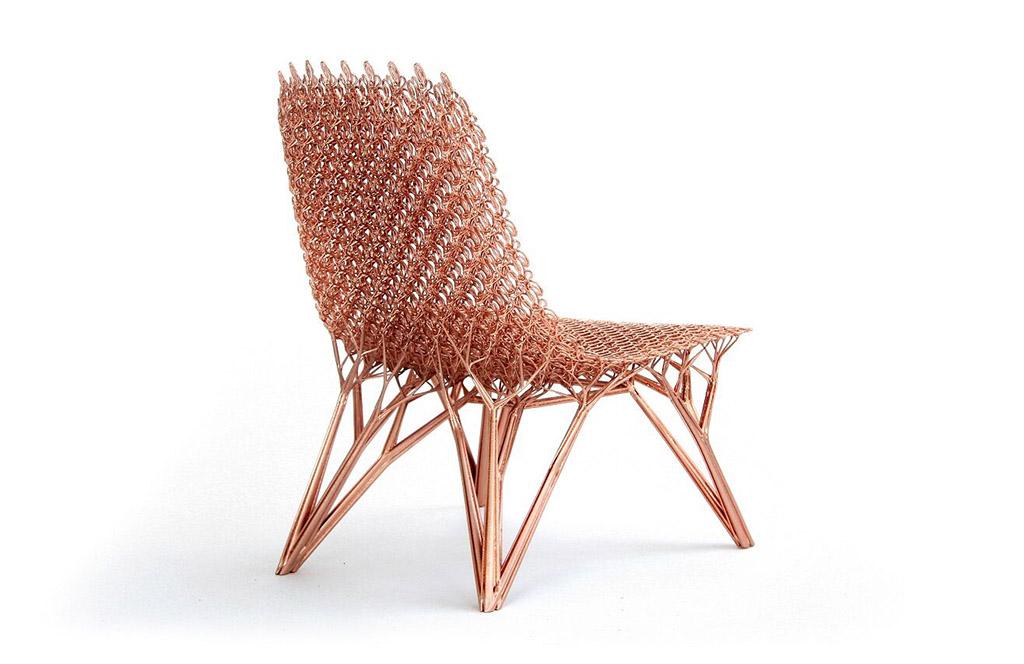 Microstructures Adaption Chair (Long Cell) Joris Laarman 2014 Friedman Benda and Joris Laarman Lab