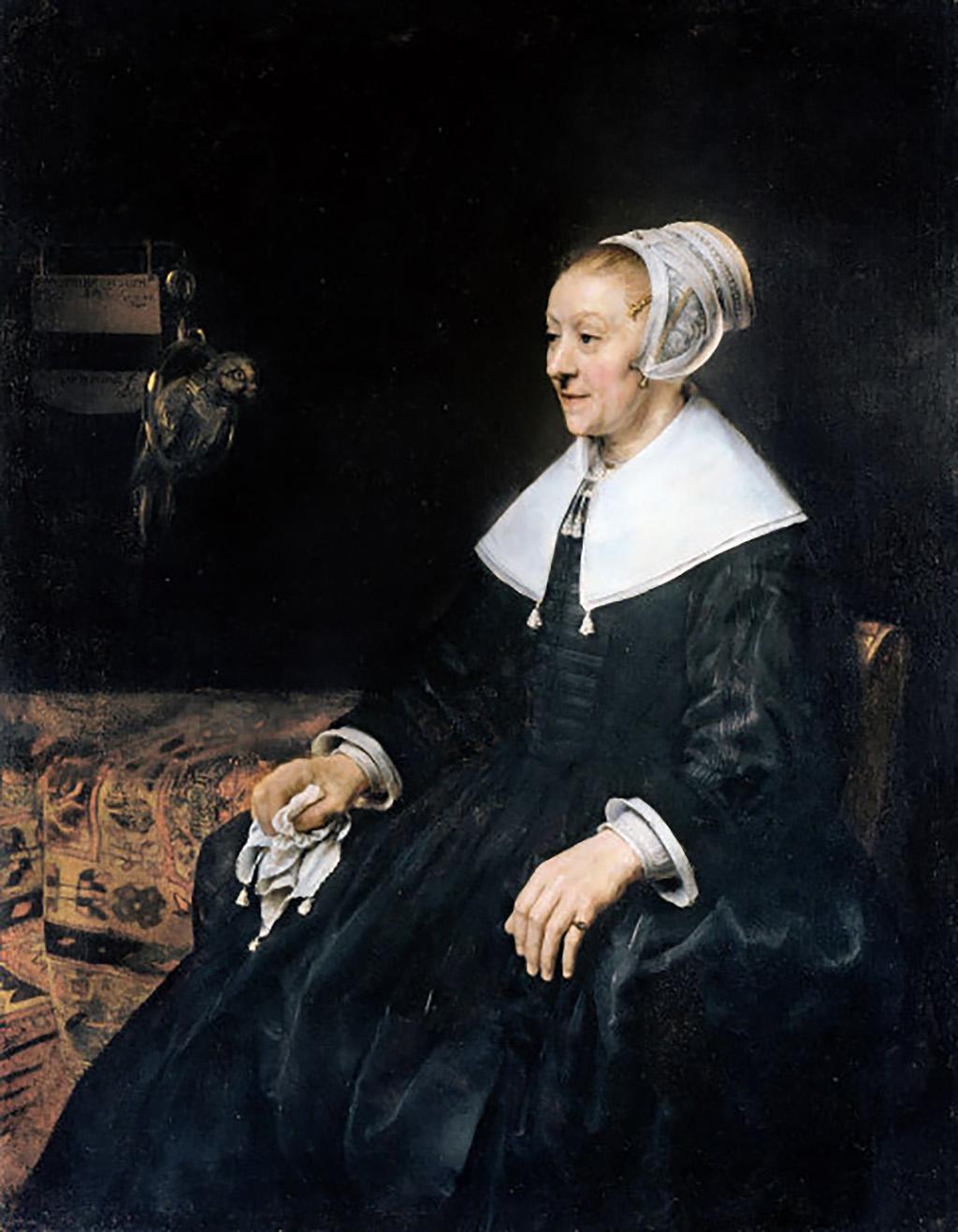 Рембрандт «Портрет Катрины Хогсат» © частная коллекция, Национальный музей Кардиффа, Великобритания