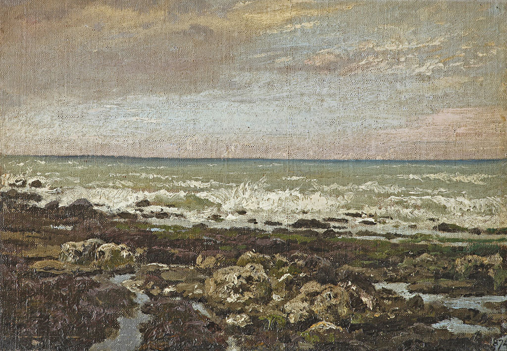 «Отлив. Вёль. Нормандия», этюд 1874