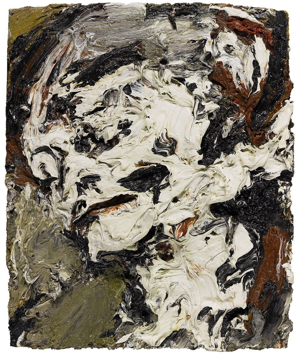 "Frank Auerbach ""Head of Gerda Boehm"" 1965"