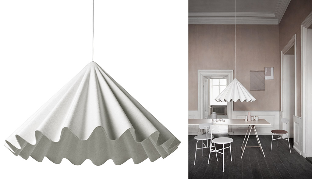 Dancing pendant lamp Designed by ISKOS-BERLIN for MENU (DK) 2014