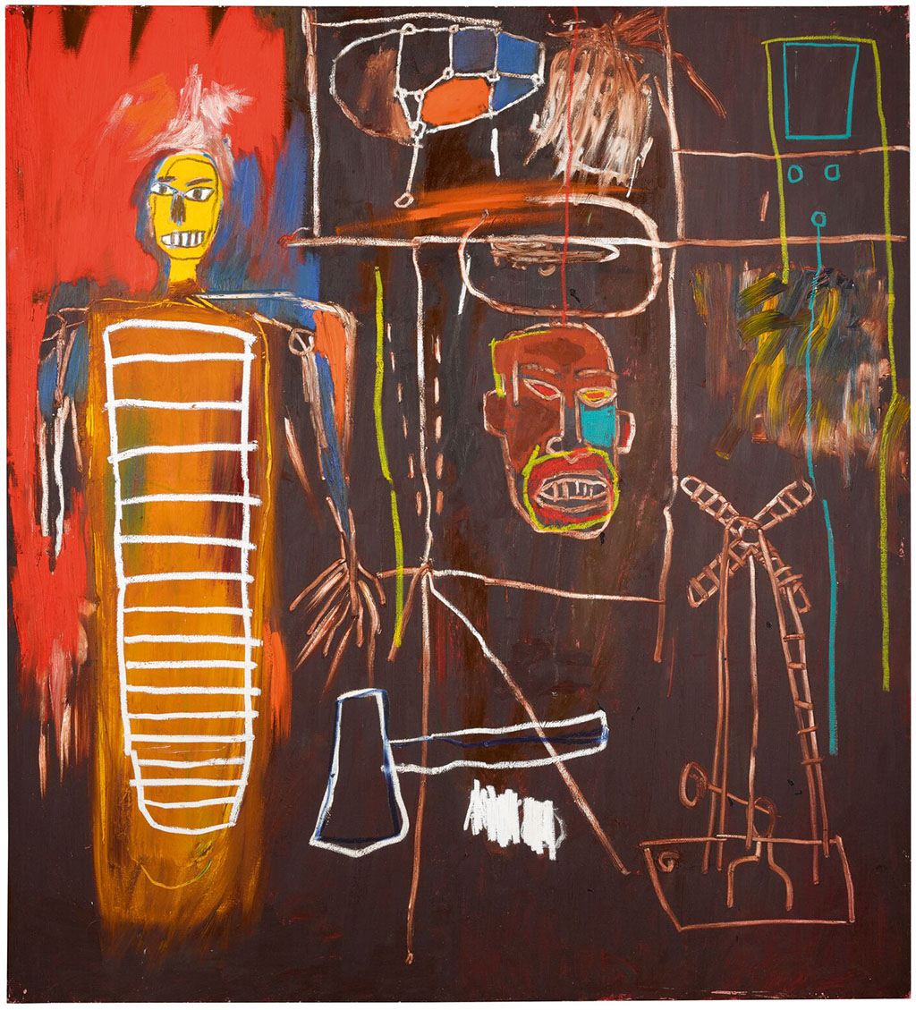"Jean-Michel Basquiat ""Air Power"" 1984"