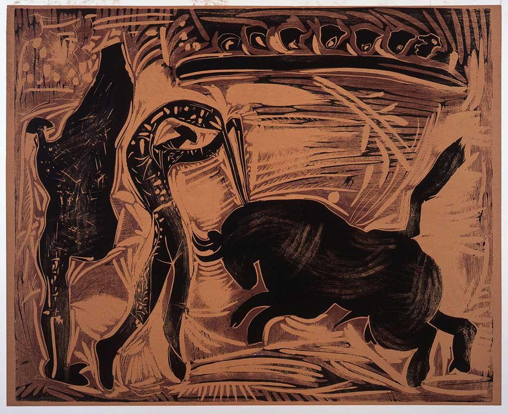 """""""Le Banderillero"""" 1959 © Succession Picasso 2016"""