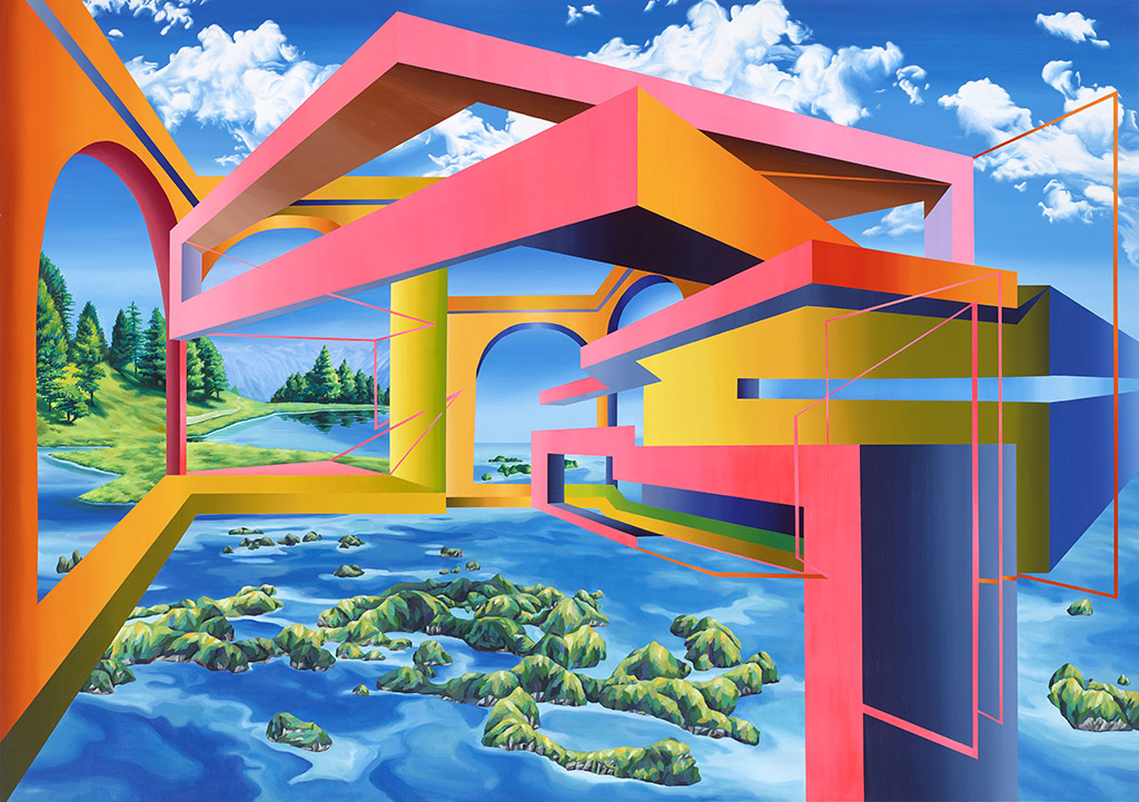 """Galerie Michael Schultz SEO """"Deine Sicht, mein Gefuehl - Your view, my emotion"""" 2016 © Courtesy of Galerie Michael Schultz, Berlin, Germany"""