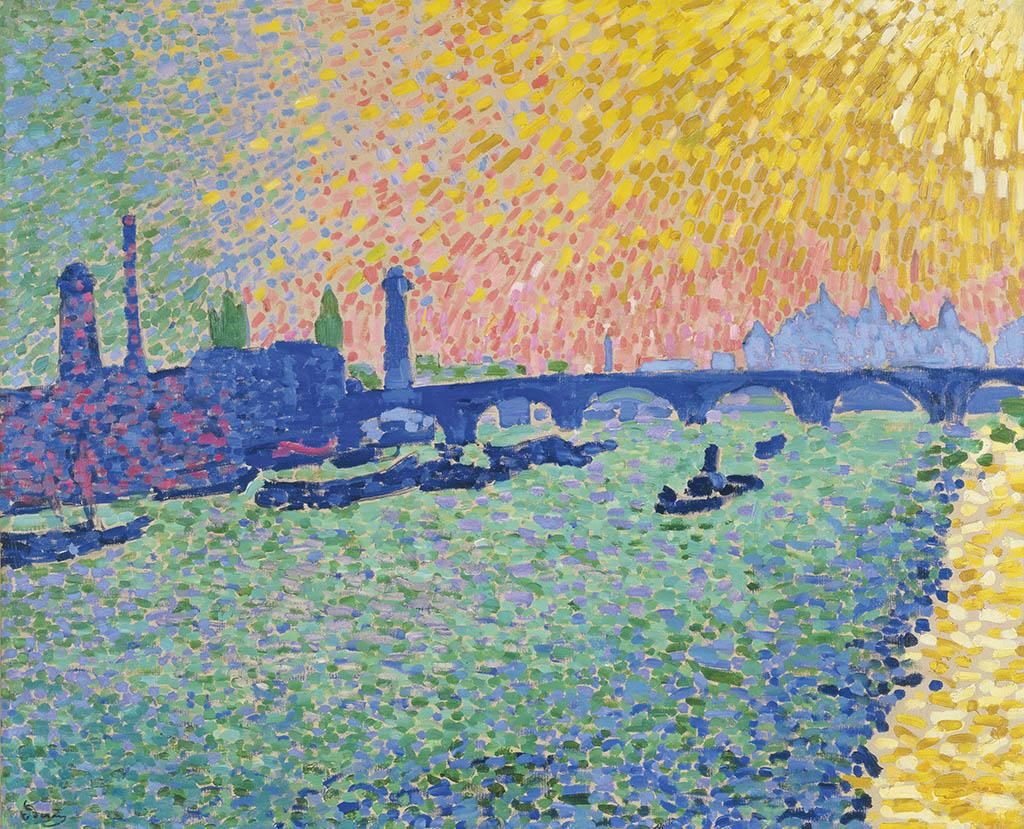 "Андре Дерен ""Мост Ватерлоо"" 1906"