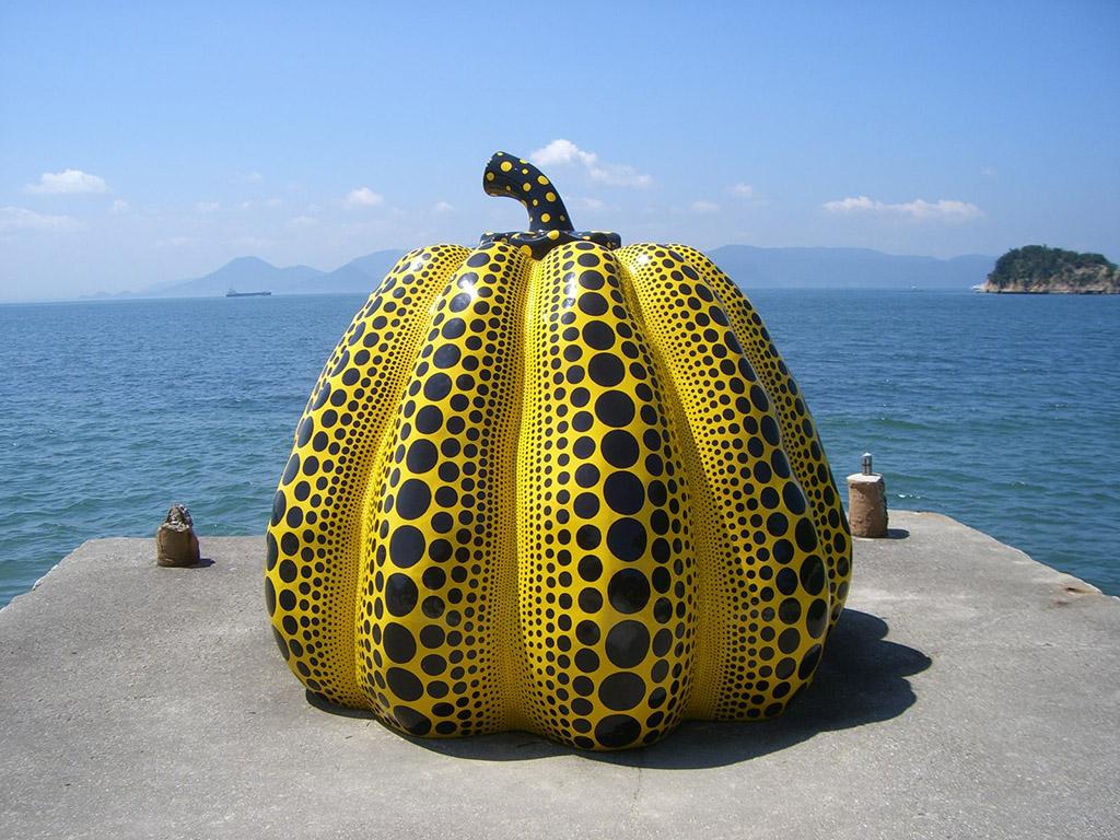 """Yayoi Kusama """"Pumpkin"""""""