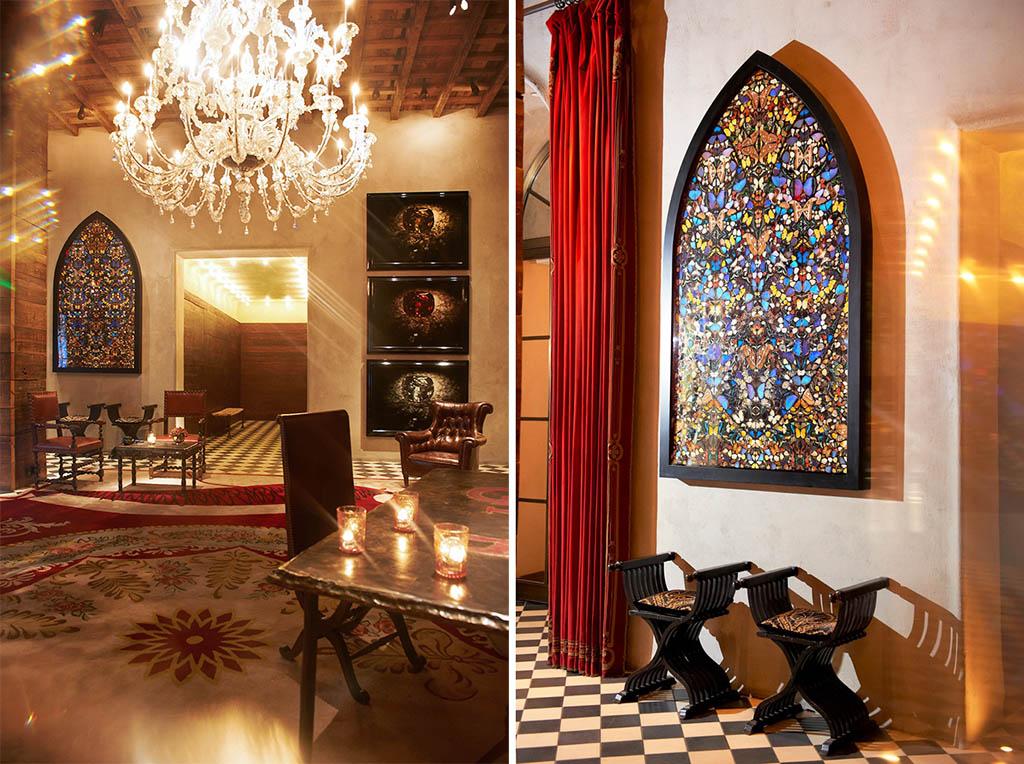 Damien Hirst (c) Gramercy Park Hotel New York