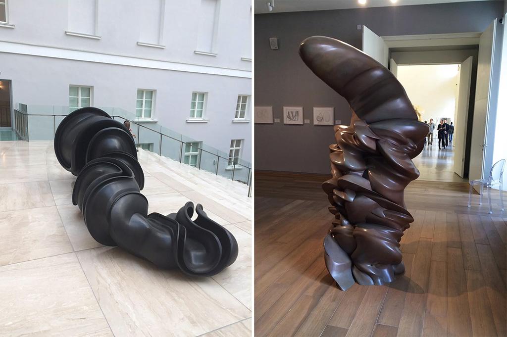 Выставка Тони Крэгга в Эрмитаже Фото: Евгения Гершкович