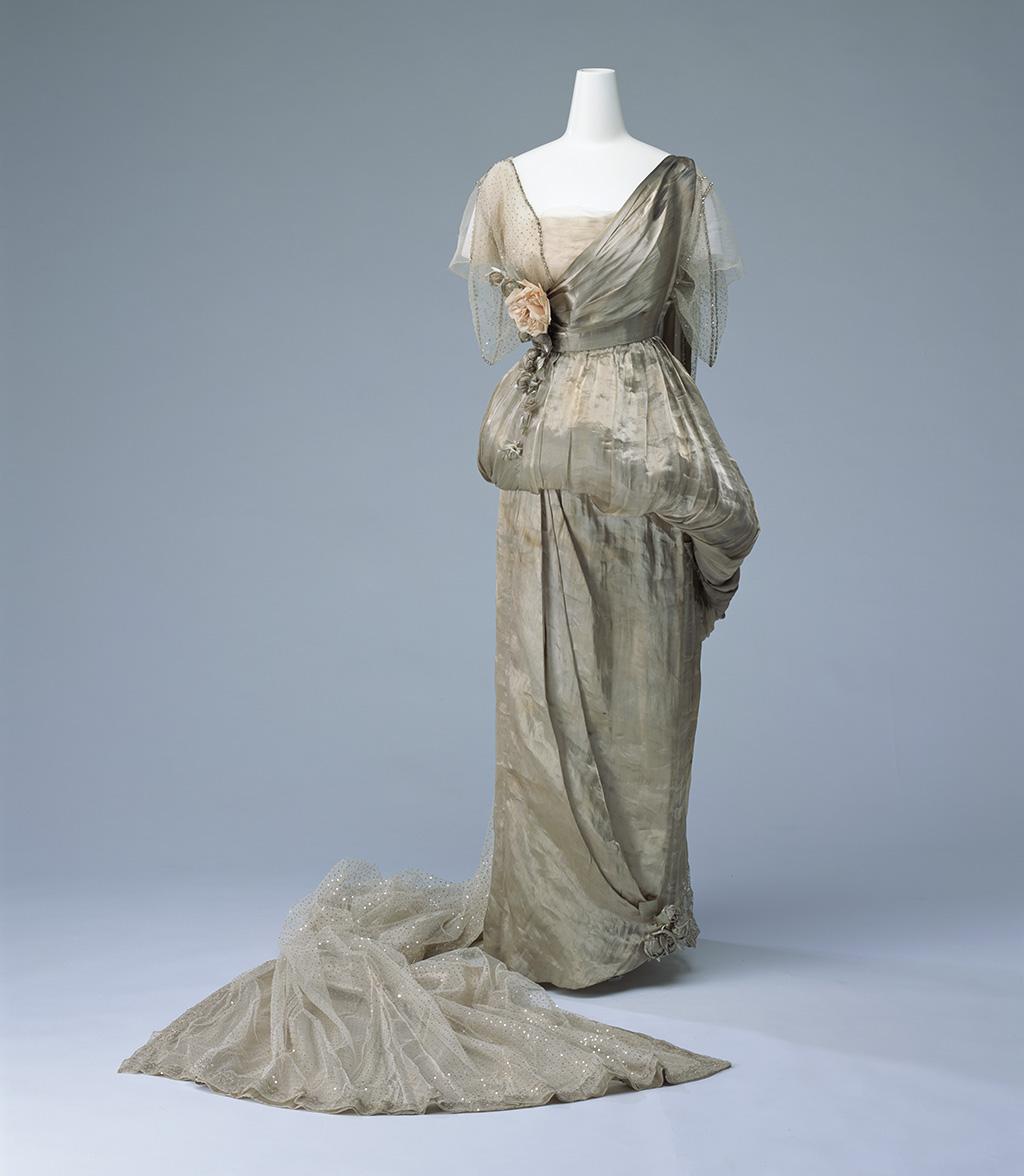 Парадное придворное платье со шлейфом Франция, 1914 Модный дом Worth