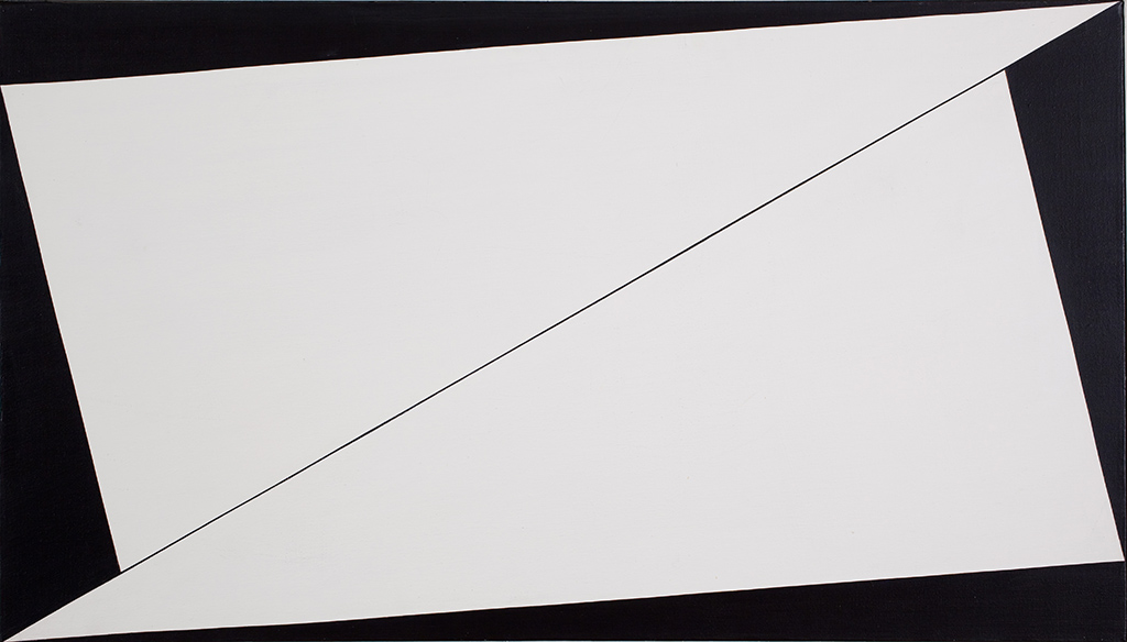 """Equation"" 1958 Collection of Stanley Stairs and Leslie Powell © Carmen Herrera, courtesy Ikon Gallery"