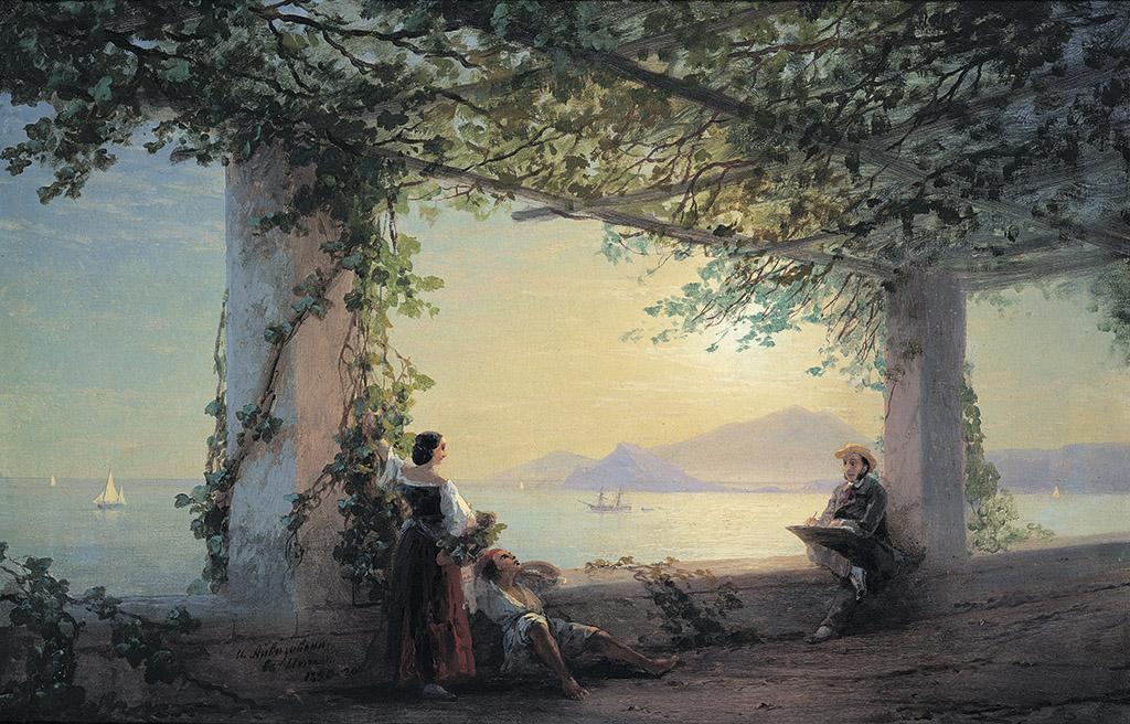 """""""Айвазовский в Италии"""" 1840"""