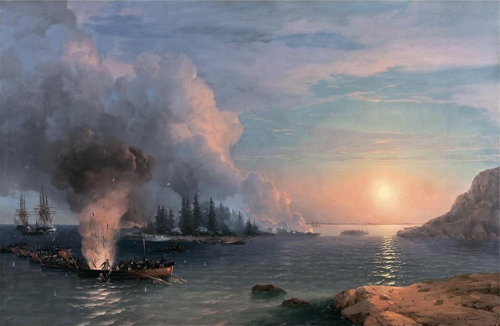"""""""Битва за Бомарсунд"""" 1858"""
