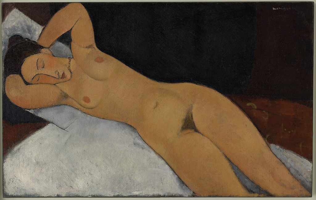 "Amedeo Modigliani ""Nude"" 1917"