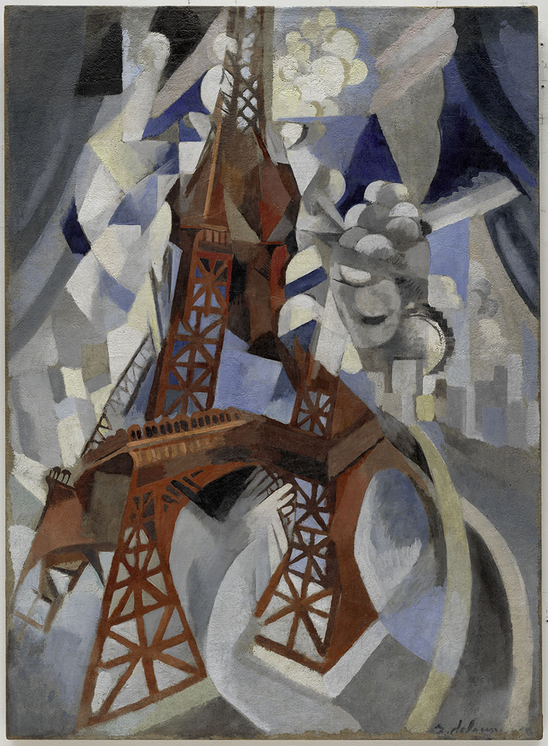 "Robert Delaunay ""Red Eiffel Tower"" 1911–12"