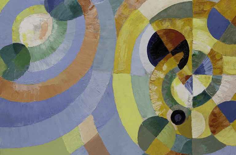"Robert Delaunay  ""Circular Forms (Formes circulaires), 1930"