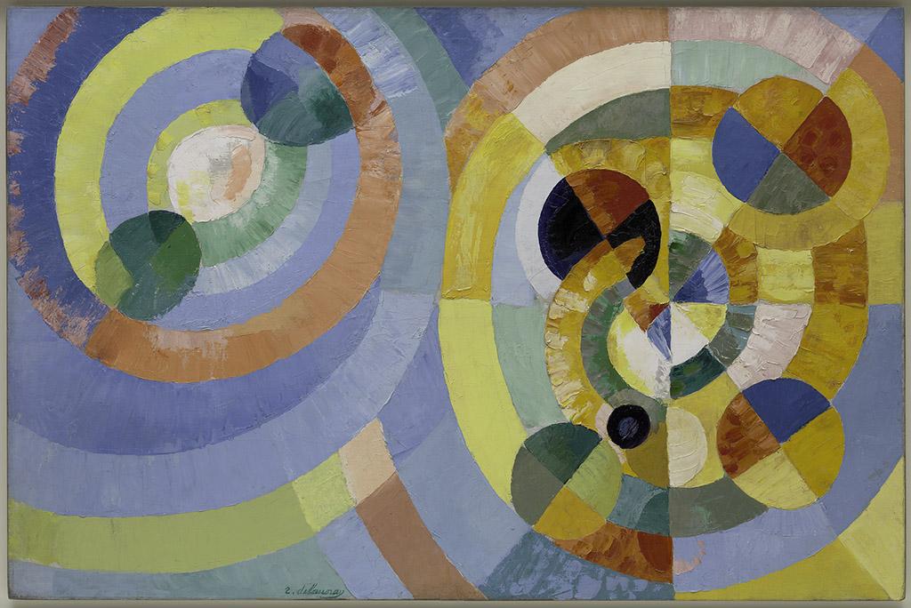 "Robert Delaunay ""Circular Forms"" 1930"