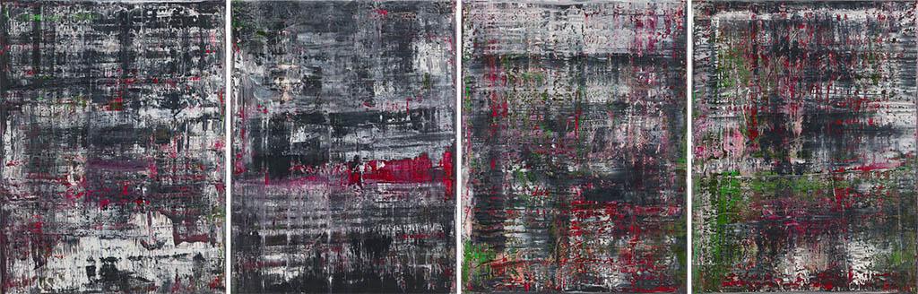 """Герхард Рихтер """"Haggadah 1, 2, 3, 4"""" 2006"""
