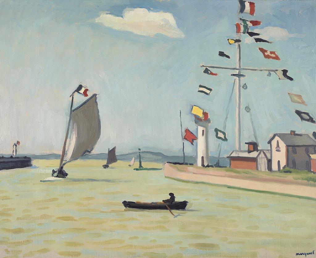 Марке Альбер «Порт в Онфлере» 1911