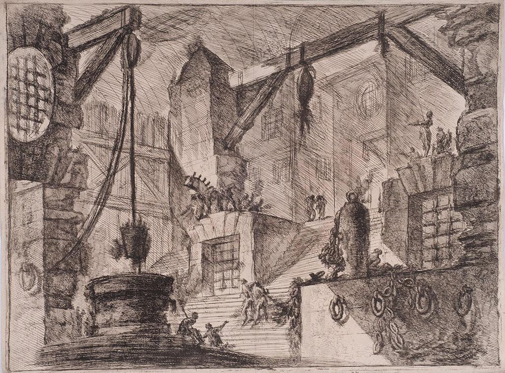 """Джованни Баттиста Пиранези """"Колодец"""" из серии """"Темницы"""" 1749-1751"""