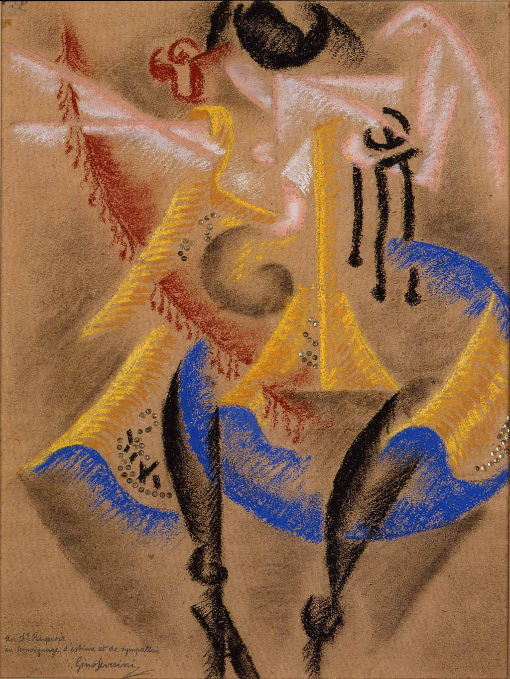"Gino Severini ""Danseuse"" 1913"