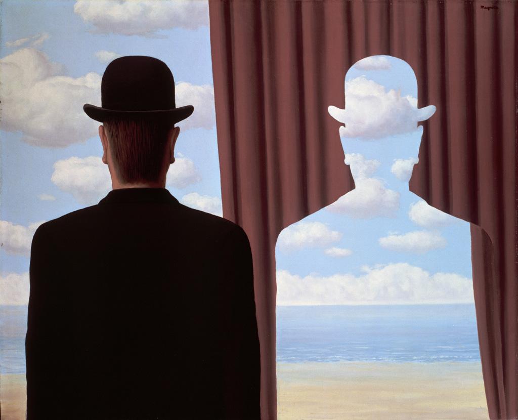 René Magritte, Décalcomanie, 1966, © Photothèque R. Magritte / B