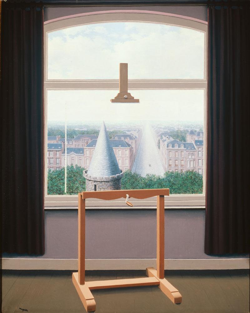 René Magritte, Les promenades d'Euclide, 1955, © Photothèque R. Magritte / Banque d'Images, Adagp, Paris, 2016